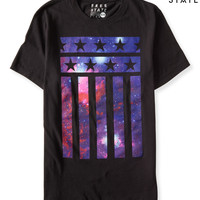 Free State Night Sky Stripes Graphic T
