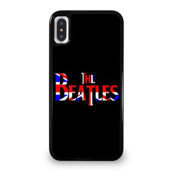 THE BEATLES NEW DESIGN BRITISH iPhone 5/5S/SE 5C 6/6S 7 8 Plus X/XS Max XR Case Cover