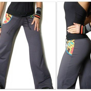 Bohemian Cardio Dance Pants by jmorco on Etsy