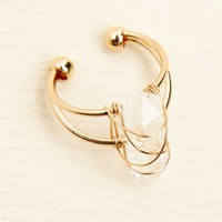 Faux Stone Gold Ring