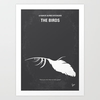 My Birds minimal movie poster Art Print by Chungkong