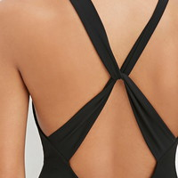 Crisscross-Back Bodycon Maxi Dress | Forever 21 - 2000146470