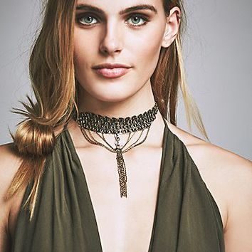 Ettika x Free People Womens Orbit Choker