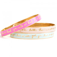 Ban.do Sweet Talk Bangle | ban.do