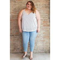 Lynley Striped Top