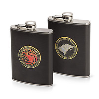 Game of Thrones 8oz Flasks - Stark