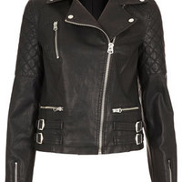 Biker Jacket - Jackets & Coats  - Clothing