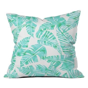 DENY Designs Lani Kai Leaf Pillow | Nordstrom