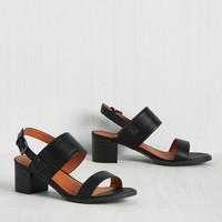 A Necessary Sequel Sandal in Black | Mod Retro Vintage Sandals | ModCloth.com