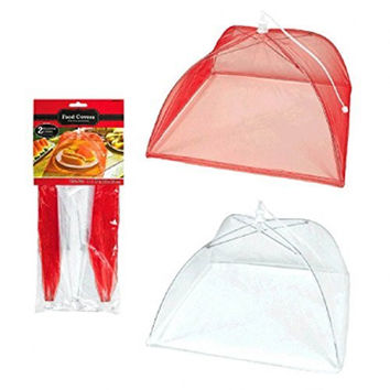 Picnic Party Mesh Food Covers - 3 Ct