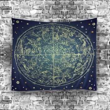 Stars Table cloths Indian tapestry Black White  Bohemian Tapestry Wall Hanging Mandala Towel Bedspread Shawl