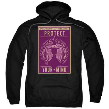 Fantastic Beasts Protect Your Mind Licensed Adult Hoodie