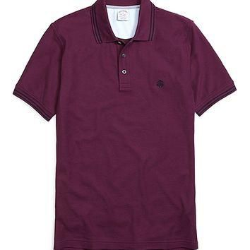 Golden Fleece? Slim Fit Double-Tipped Collar Pique Polo Shirt - Brooks Brothers