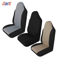 Car Seat Cover Breathable Car Front Seat Covers Cushion Pad Protective Covers for Car Seats Black Gray Beige