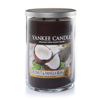 Coconut & Vanilla Bean : Large 2-Wick Tumbler Candles : Yankee Candle
