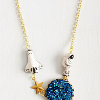 Better, Asteroid, Stronger Necklace | Mod Retro Vintage Necklaces | ModCloth.com