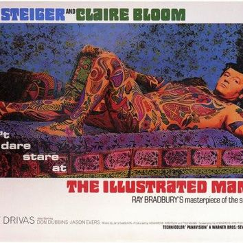 The Illustrated Man 11x14 Movie Poster (1969)