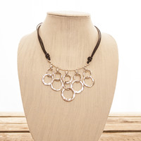 sweet silver necklace