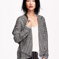 Old Navy Womens Open Front Cocoon Cardigan