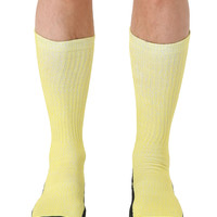 Pebble Yellow Sport Socks