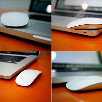 Elegant Ultrathin Wireless Optical Mouse for Windows Mac OS (Color: White) = 1841338948
