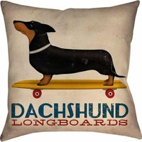Thumbprintz Dachshund Long Board Pillow - Walmart.com