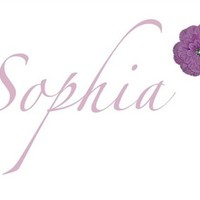 Sophia Flower Wall Decal