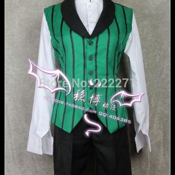 Black Butler Season Alois Trancy cosplay party  anime Cosplay Costume Clothes Dress  Track Anime