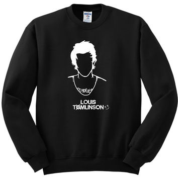 "Louis Tomlinson ""Just Hold On"" Single Cover Crewneck Sweatshirt"