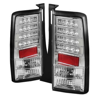 Scion XB 03-07 Version 2 LED Tail Lights - Chrome