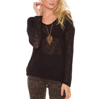Willow Top - Black