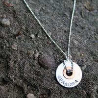 Knotted in My Heart - Grandma Necklace