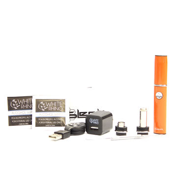 Orange Sleek Vaporizer