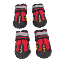 New Qualified Waterproof Pet Boots for Medium to Large Dogs Labrador Husky Shoes Levert Dropship dig631