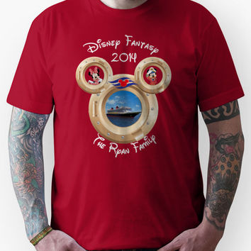 Custom Disney Fantasy The Ryan Family Unisex T-Shirt