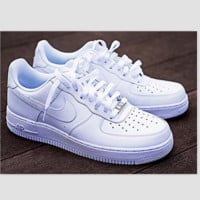 NIKE Women Men Running Sport Casual Shoes Sneakers Air force high tops and Low tops shoes HIGH QUALITY
