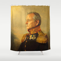 Bill Murray - replaceface Shower Curtain by Replaceface