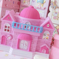 Princess Lives Here Mini Dolly Pink Castle