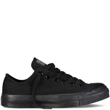 Converse Chuck Taylor All-Star Classic Low Black/Black Monochrome