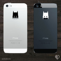 Batman inspired mask iPhone Decal