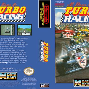 Al Unser Turbo Racing - Nintendo NES (Ugly Game Only)