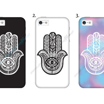 Hamsa Hand Mobile Cell Phone Case iPhone 3 3GS 4 4S 5 5S 5C Samsung Galaxy S2 S3 S4 Mini S5 Sony Xperia Z Blackberry Z10 Curve Bold