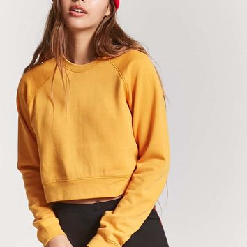 French Terry Raglan Sweatshirt