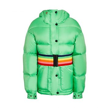 Perfect Moment - Kids' Oversized Parka Nordic Green Jacket