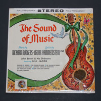 Vintage THE SOUND OF MUSIC Vinyl Record Album 1964 33 1/3 RPM With Cover