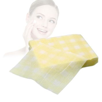 Portable Disposable Face clean Towels Magic Face Cleanse Makeup Removing Home Travel daily use Paper Towel cosmetic cotton pads