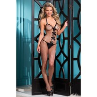 Be Wicked BWB56B Fishnet Bodystocking
