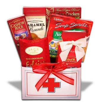 Alder Creek Dr.'s Orders Get Well Gift Box (Caramel/Butterscotch/Toffee)