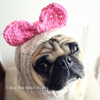 Dog Hat - Betty Bow Hat