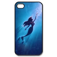 Disney The Little Mermaid IPhone 4/4S Durable Plastic Colorful Case